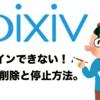 pixiv(ピクシブ)ログインできない!アカウント削除と停止方法を紹介!