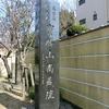 関東三十六不動 12番 志村不動尊、今ちょうど桜の季節!