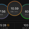 ジョギング10.59km・東京マラソン走れないみなさーん!
