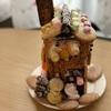 <習い事>娘@絵画造形教室 2018年12月の様子とお菓子の家作り