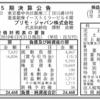 プリモ・ジャパン株式会社 第5期決算公告