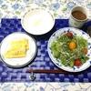 今朝の朝ごはんとカロリー(^o^)