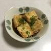 揚げてないけど揚げ出し豆腐作りました(´・ω・`)