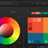 カラーパレットや配色のサイト
