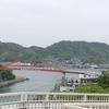 音戸の瀬戸に架かります昭和の音戸大橋、平成の第二音戸大橋、それから、倉橋島の第三の音戸大橋です。