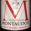 Montaudon Brut Reserve Premere