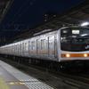 夜の京葉線で武蔵野線を少しだけ撮影してみた