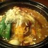 札幌市 スープカレー タイガーカレー  / 土鍋&ニンニク 元気が出るスープカレー