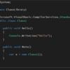 VB.NETでもクラスとモジュールの違いを知りたい