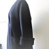 コーデリレーその6、起毛ニットでコーディガン。縫製編。