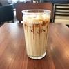ひんやり甘いコーヒーブレイク♪アイス黒糖ラテ(ドトール)
