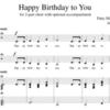 Happy Birthday to You 3拍子か4拍子か問題