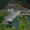 大滝ダム周辺の集落 大滝地区と井戸地区