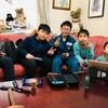 12月27日(木)孫たちの合宿が始まった。