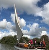 ノーフォークの川をティーゼル号で帆走する (2) 帆走になれてきた編