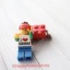 昔ハワイで買ったレゴのキーフォルダー、、の話ではなくて、生活もダイエットしようってこと