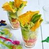 アボカドのメキシカン*サラダパフェ