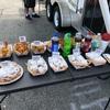 地元ホプキンスビル の夏のフェスティバルが開催中… 食べ物屋さんは列んでいるところがやっぱり美味しい?