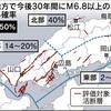 「M6.8以上、30年内に50%」 中国地方の活断層地震