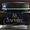 休日には靴磨き サフィール ノワール(SAPHIR Noir)クレム1925 ブラック