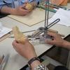 「仏像彫刻体験講座」第4回目
