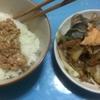 おっさん晩飯日記 6品目 キノコと鮭のバター蒸し焼き
