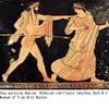 アイギーナは,ゼウスに愛されたナーイアス.ギリシャローマ神話でよく知られた名前です.しかし,彼女自身が活躍する場面が描かれているかと言えば,そうでもなく,よく知られるようになったのは,ゼウスによる掠奪を父親に知らせたシーシュポス,並びにオイノーネー島(のちにアイギーナ島)でゼウスとの間にもうけた息子アイアコス,さらには孫ペーレウスを通してという気がします. ナーイアス2  アイギーナ