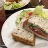 横浜イングリッシュガーデン内のカフェでランチ
