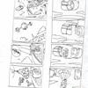 四コマ漫画1000ページノック!四コマ565ページ目