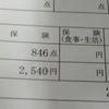 歯医者2540円