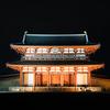 ライトアップされた平城京