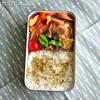 #507 ベビーホタテと白菜の中華煮弁当(家弁)