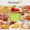 7/28まで!Olive Gardenでキッズミールが1ドル!