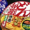 麺類大好き25 日清どん兵衛天ぷらそば+HOTEIやきとり塩味
