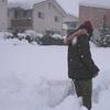 鳥取にて33年ぶりの積雪90㎝超を体感中