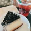 クッキー&クリームシフォンケーキ@スターバックスコーヒー