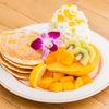 【情報】エッグスンシングス(Eggs'n Things)の期間限定「マンゴーパンケーキ with エアーチーズケーキ」