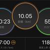ジョギング10.05km・ほんのちょっとでもセット練の巻