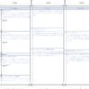 CSSグリッドレイアウトで番組表(ラテ欄)を試作してみたよ