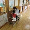 1年生:教育相談 自習 帰りの支度
