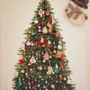 【子育て】息子氏とクリスマスツリータペストリーを飾りました