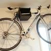ロードバイクの保管方法② トップチューブで壁掛け