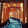 京都へ夏旅。伏見稲荷と江口寿史展