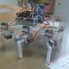 Raspberry Piで多脚ロボットを試作してみた
