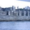 長崎軍艦島(端島・はしま)へ♪ 午前中の船は上陸出来ず。渦みたいなのがあるかも??