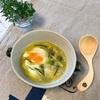 にんにく・玉ねぎ・黒酢で、肩凝り改善のスープ