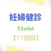 33w6d 妊婦健診【11回目】 里帰り後と順調?