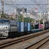 9月1日撮影 東海道線 平塚~大磯間 貨物列車3本撮影 1155ㇾ 1097ㇾ 2079ㇾ