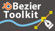「Bezier Toolkit」ベジェ曲線の作成、編集が快適に!ペンツールのような操作感で、ベジェ曲線が描けるアドオン!使い方&レビュー