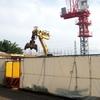 ロイヤルシーズン青葉台(新築マンション)の工事現場を散歩ついでに見に行ったらかなり大規模だった。
